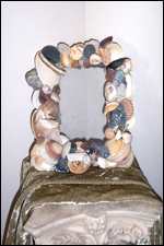Hatteras Seashell Picture Frame