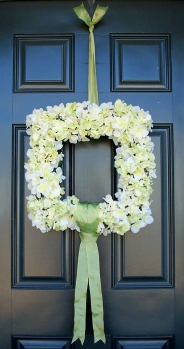 High Quality Square Wreath, Summer Wreath, Grapevine Wreath, Floral Wreath, Front Door  Wreath